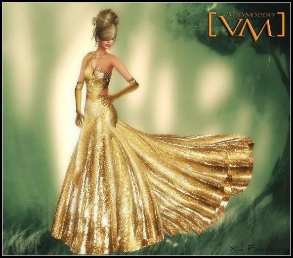Xia Firethorn/Nyke Gown