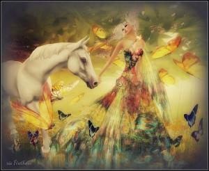 FD/ unicorns and  butterflies/Xia firethorn