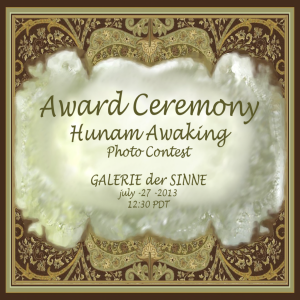 Human Awaking Award Ceremony