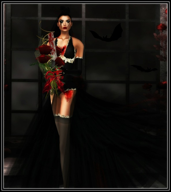 Vics Bride by flowerdreams /Model and photographer  Xia Firethorn