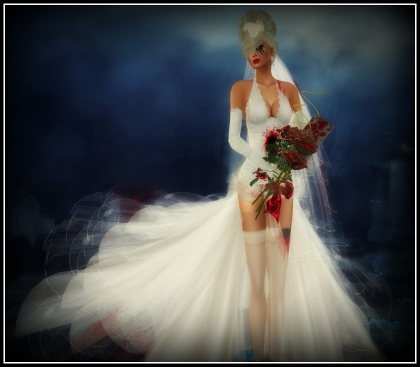 VICS BRIDE by Flowerdreams/Model and photographer Xia Firethorn