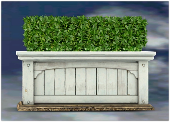 PLANTER-~ xantes ~ Mesh Hedge Wood Planter_001