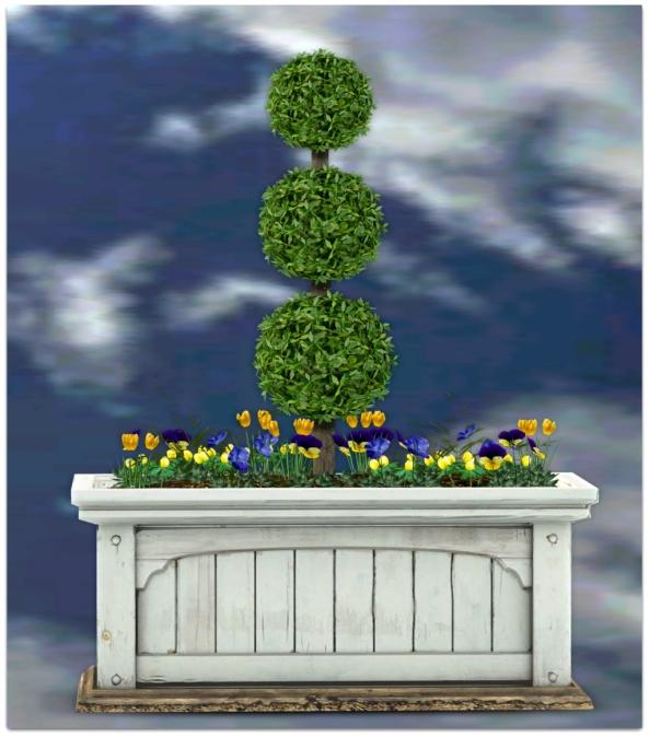 PLANTER-~ xantes ~ Mesh Spring Planter Finja_001