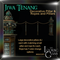 TLG - Jiwa Tenang Decorative Pillar & Ropes and Pillars
