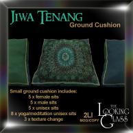 TLG - Jiwa Tenang Ground Cushion