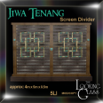TLG - Jiwa Tenang Screen Divider