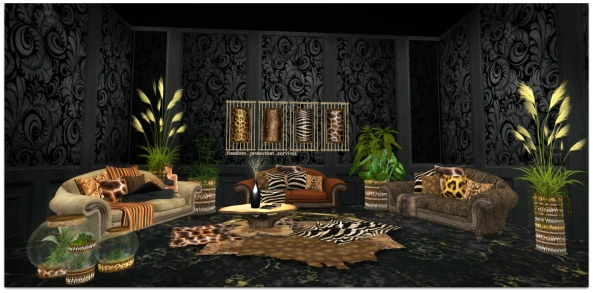 TLG - Tribal Faux Full Setup for Bloggers SWANK_001
