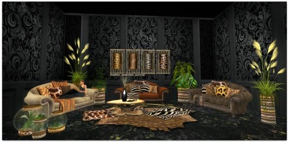 TLG - Tribal Faux Full Setup for Bloggers SWANK_001