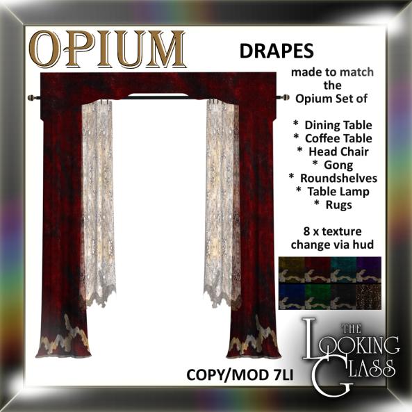 TLG - Opium Drapes Ad