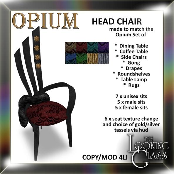 TLG - Opium Head Chair Ad