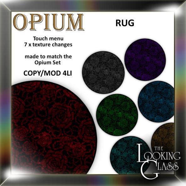 TLG - Opium Rug Ad