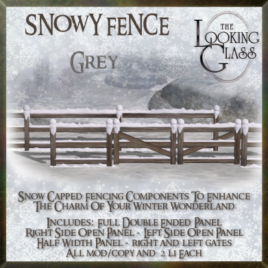 TLG - Snowy Fence Grey