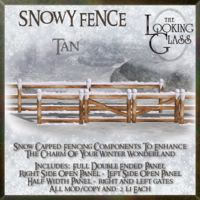 TLG - Snowy Fence Tan