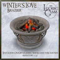 TLG - Winter's Love Brazier Ad