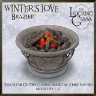 TLG - Winter's Love Brazier Ad