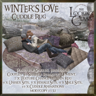 TLG - Winter's Love Cuddle Rug Ad