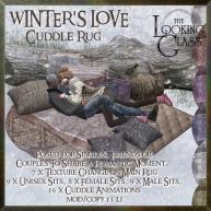 TLG - Winter's Love Cuddle Rug Ad