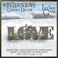 TLG - Winter's Love Garden Decor
