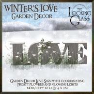 TLG - Winter's Love Garden Decor
