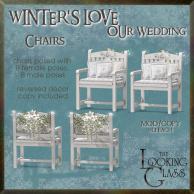 tlg - winter's love wedding chairs