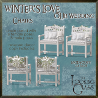 tlg - winter's love wedding chairs