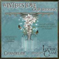 tlg - winter's love wedding chandelier