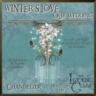 tlg - winter's love wedding chandelier