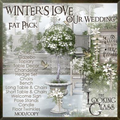tlg - winter's love wedding fat pack