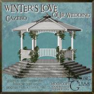 tlg - winter's love wedding gazebo